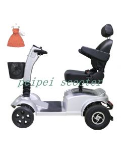 10 inch 12 inch mobility scooter with four wheels for disabled or elderly people or handicapped instead of walking PPSC1250-AB