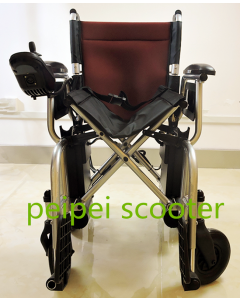 best quality foldable portable comfortable easy carry manual electric wheelchair ppse-16