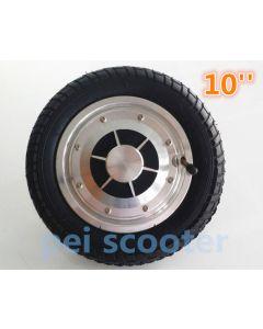 10 inch 10inch single shaft dc scooter hub wheel motor with hall sensor phub-155