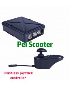 Brushless wheelchair scooter joystick controller with electromagnetic brake pps-40