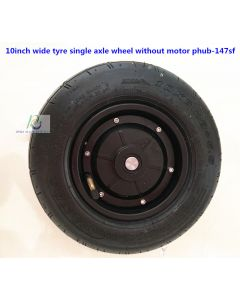 10 inch 10x6.0-5.5 wide tyre Single axle wheel without motor fit disc brake phub-147Sf