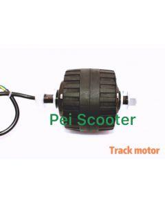 Double shaft 75 mm van hub wheel track motor phub-214