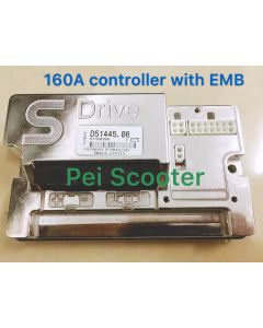 160A brushed wheelchair scooter dc motor controller with electromagentic brake good quality pps-226